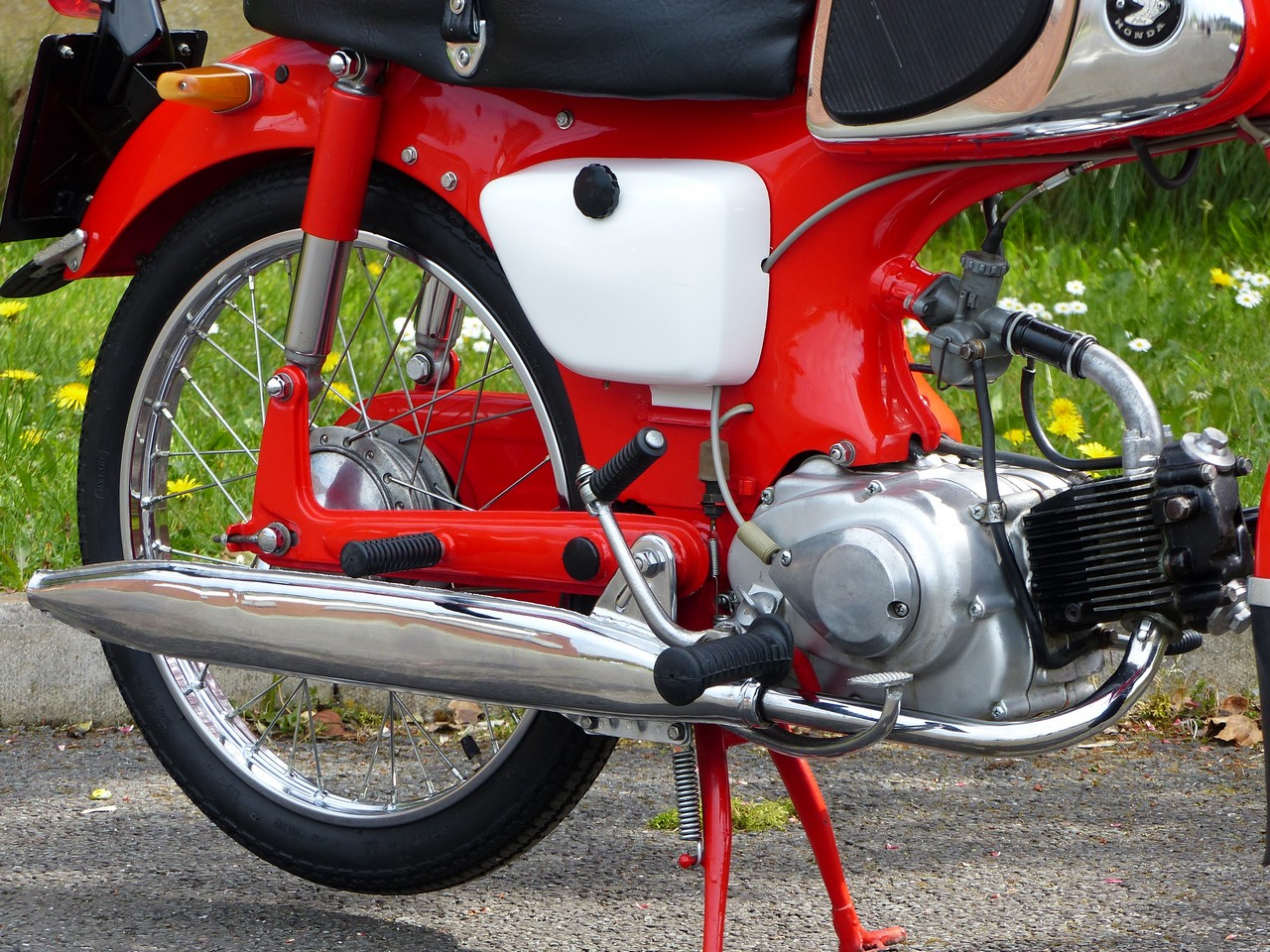 Steve Carthy Motorcycles :: Classic Motorcycles For Sale :: Honda C110 Sports Cub 49cc 1962