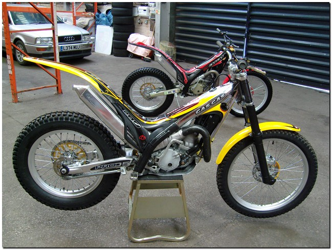 Txt Pro 200 Gas Gas Trials Bike