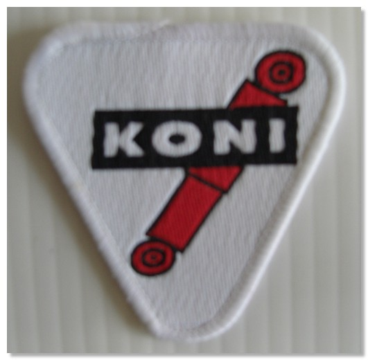 Koni Material Patch Badge