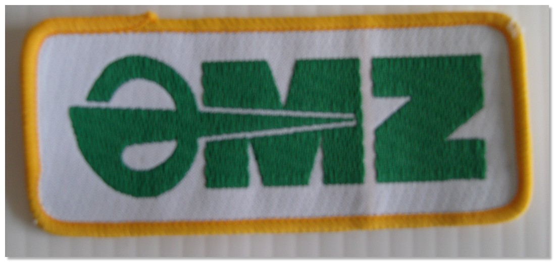 MZ Material Patch Badge