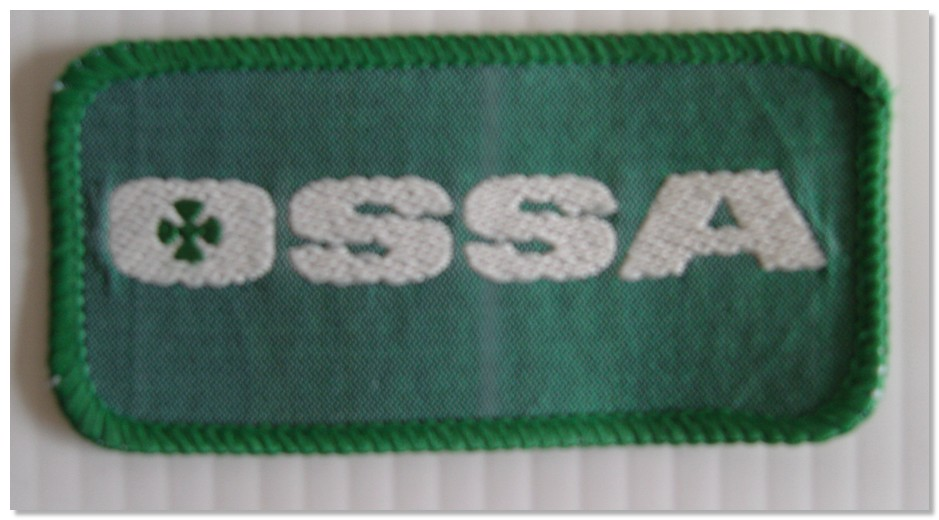 Ossa Material Patch Badge