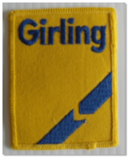 Girling Material Patch Badge