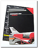 Ducati 900 Supersport Poster with Technical Data