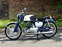 Honda CB92 125 Benly Super Sport Classic Motorcycle - Rare