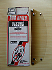 Bob Heath Visor No 39 - Scorpion & Phoenix Size 3 & 4 (1/2 Tint)