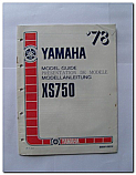 XS750 1978 Yamaha Model Guide