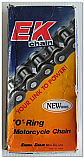 Motorcycle Chain 'O' Ring EK520SRO (108 links)