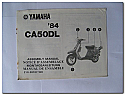 CA50DL 1984 Yamaha Assembly Manual