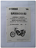 SRX600(S) 1986 Yamaha Assembly Manual