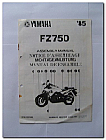 FZ750 1985 Yamaha Assembly Manual