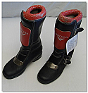 Classic Childrens 'Norven' Motorcycle Boots
