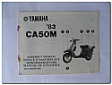 CA50M 1983 Yamaha Assembly Manual
