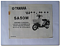 SA50M 1982 Yamaha Assembly Manual