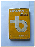 Honda 125 150 Model C92 CS92 CA92 C95 CS95 CA95 Parts Book