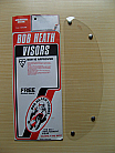 Bob Heath Visor No 18 - Electro (Clear)