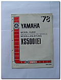 XS500 (E) 1978 Yamaha Model Guide