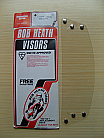 Bob Heath Visor No 38 - Scorpion & Phoenix (Clear)