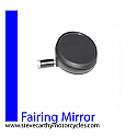 Stadium Click Action Fairing Mirror with tinted glass