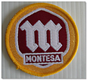 Montesa Material Patch Badge