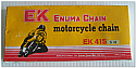 Motorcycle Chain EK415SH (120links)