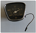 Early Suzuki Small Bike Speedo Clock