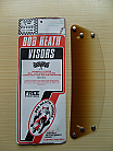 Bob Heath Visor No 38 - Scorpion & Phoenix (Gradient Tint)