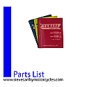 RS125 1979 Yamaha Parts List Book