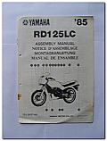 RD125LC 1985 Yamaha Assembly Manual