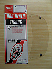 Bob Heath Visor No 20 - HA 2 Stud New Type Helmets (Clear)