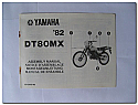 DT80MX 1982 Yamaha Assembly Manual