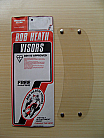 Bob Heath Visor No 5 - Balstaff Warrior (Clear)