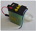 MS Motorcycle Battery 6N2-2A