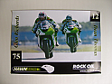 Hawk Racing Kawasaki Poster - Glen Richards & Dean Thomas