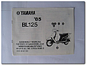 BL125 1985 Yamaha Assembly Manual