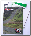 Assorted Ducati Leaflets / Posters