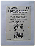 RD350LCF RD350LC RZ250S RZ350S 1986 Assembly Manual