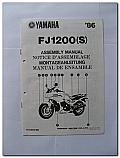 FJ1200(S) 1986 Yamaha Assembly Manual