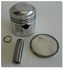 Honda CB200 - 0.50 (2nd o/s) Bailey Piston Kit