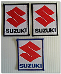 Suzuki Material Patch Badge