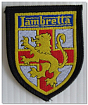 Lambretta Material Patch Badge